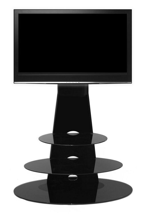 Gecko Orbit 1000 Gloss Black TV Stand for 32 inch -55 inch TVs