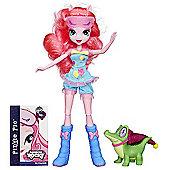 My Little Pony Equestria Girls Rainbow Rocks Doll Pinkie Pie and Gummy Snap Figure