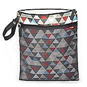 Skip Hop GRAB & GO Wet/Dry Bag (Triangles)