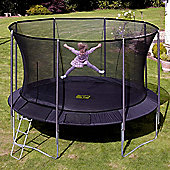 TP252 Genius Round SurroundSafe 14ft Trampoline