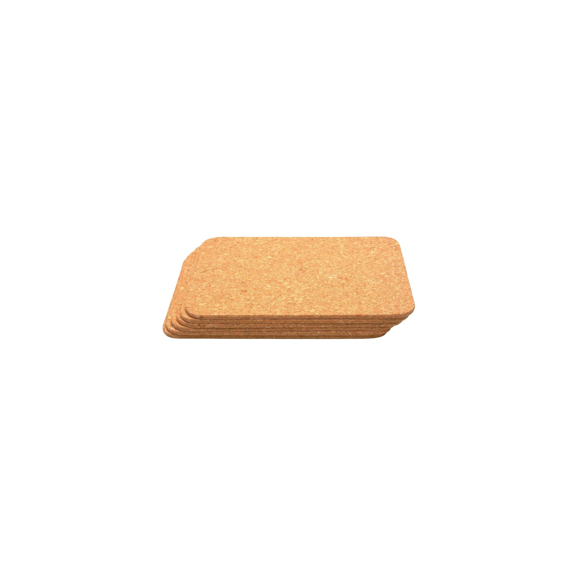 T And G Woodware Ltd Cork Mats Rectangular - 11x8 (Pack 6)
