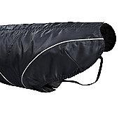 DogBite Dog Rain Jacket in Black - 30cm