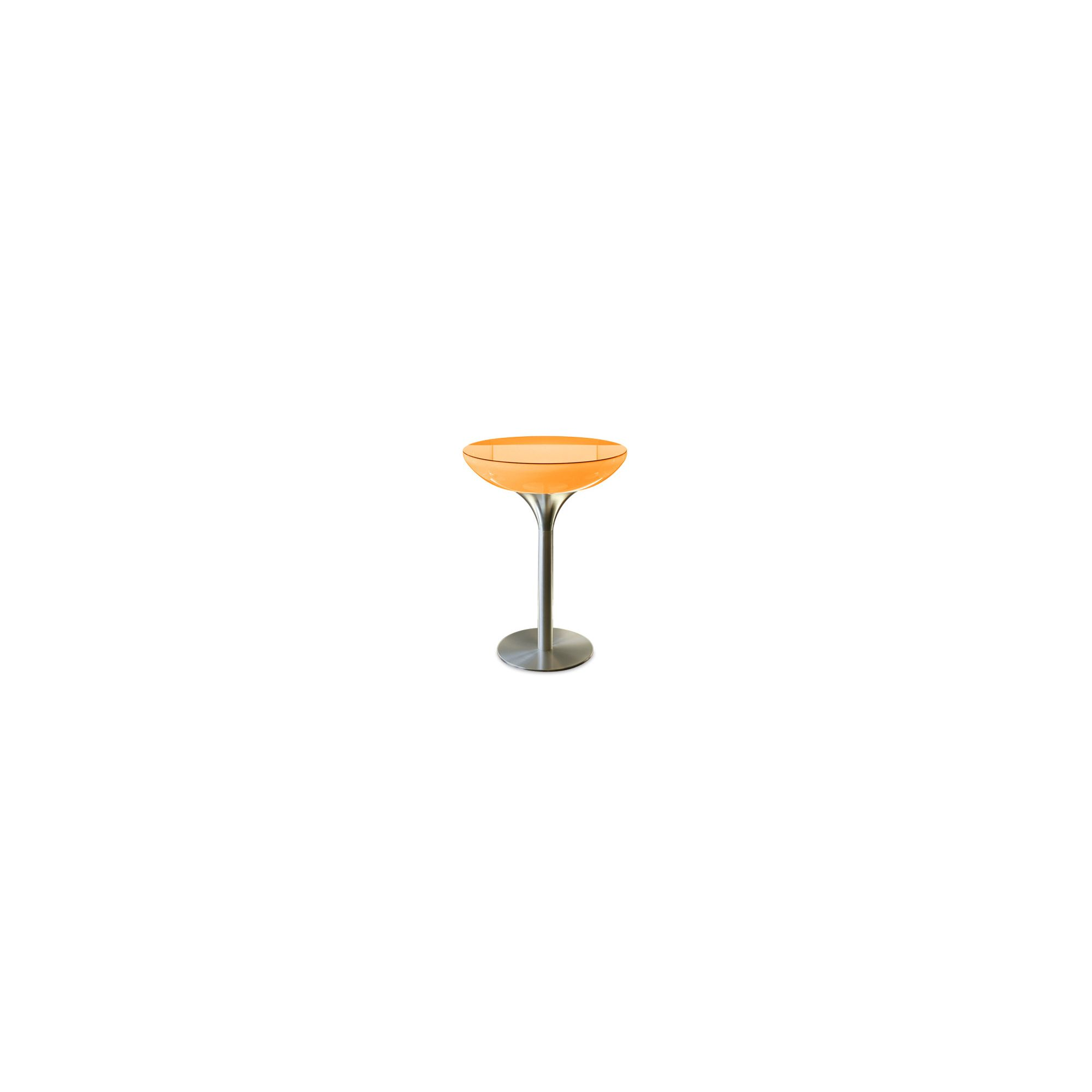 Moree Lounge Pro Table with Glass Top - 105cm at Tesco Direct