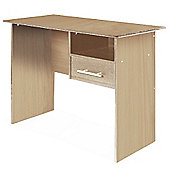 Jimbo - Home Office Storage Desk / Workstation - Light Beech