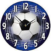 Smith & Taylor Football Wall Clock in Blue