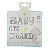 Tiny Tatty Teddy Baby on Board Sign
