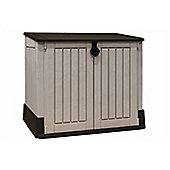 Keter MIDI Store it Out Woodland 30 Plastic Garden Storage Box 845 Litre Capacity