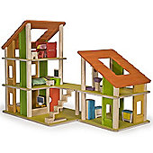 Plan Toys Chalet Doll House with Furniture
