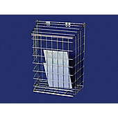 Harvey 62/M/B Letter Cage Medium Brass