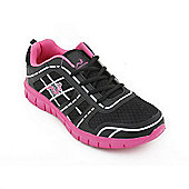 Woodworm Sports Fws Ladies Running Shoes / Trainers - Black