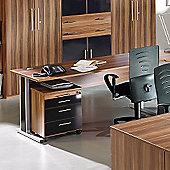 Bush Mexico 1600mm R/H C-Framed Ergonomic Desk