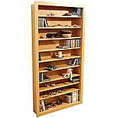 Baltimore - Large Cd / Dvd / Blu-ray / Media Storage Shelves - Beech