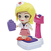Flipsies Carina & Height & Weight Scale Set