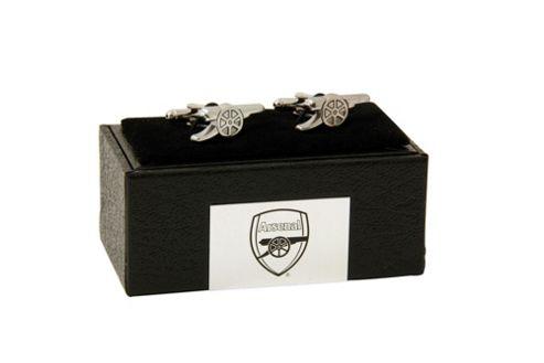 Arsenal FC Chrome Crest Cufflinks.