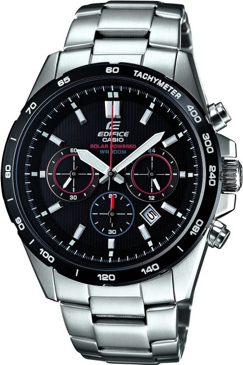 Casio Edifice Gents Bracelet Strap Watch EFR-518SB-1AVER