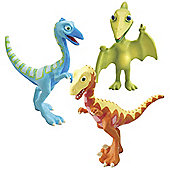 Dinosaur Train - Derek, Ollie and Mr Pteranodon 3 Figure Pack