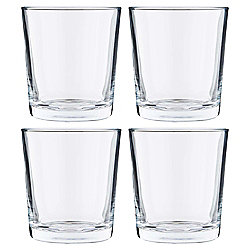 Tesco Basics Set of 4 Mixer Glasses