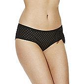 Marie Meili Oregon Studded Bikini Shorts - Black