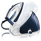 Philips GC9222/02 Perfect Care Ceramic Plate Steam Generator Iron - Blue & White