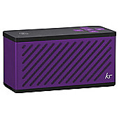 KitSound Tilt Bluetooth Speaker, Purple