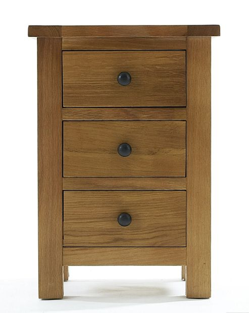 Thorndon Eden 3 Drawer Bedside Table