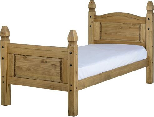 Home Essence Corona High Foot End Bed Frame - Single (3')
