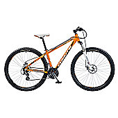 "18"" Coyote Highway Gents Alloy FS Disc 29er, 21 Speed, Orange/White"