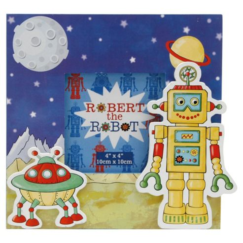 Robert the Robot Photo Frame