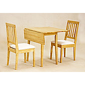 Value by Wayfair Avens Extendable Dining Table and 2 Chairs - Natural