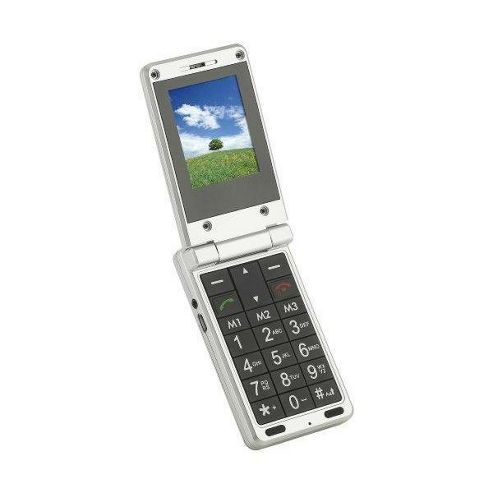 Binatone Big Button Clam Shell Mobile Phone with Large Colour Display