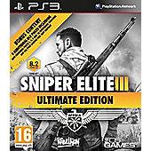 Sniper Elite 3 - Ultimate Edition - PS3
