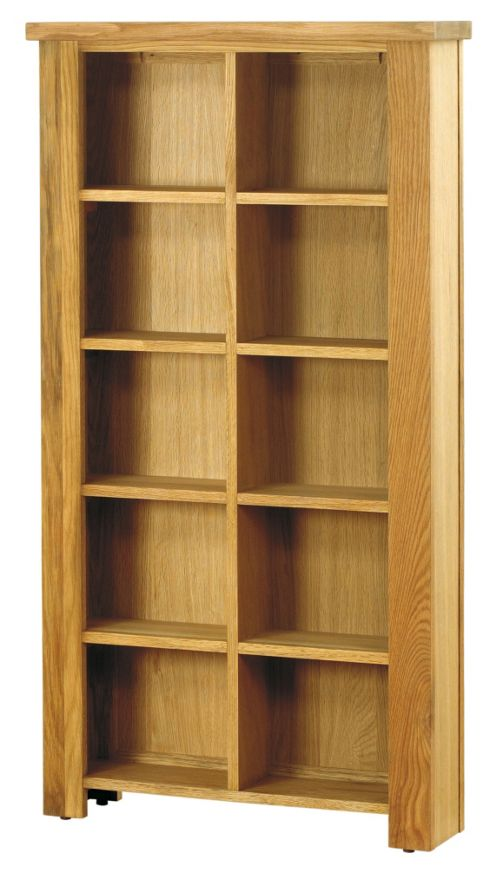 Baumhaus Aston Oak DVD / CD Storage Unit