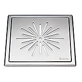 Smedbo Outline Floor Grating in Stainless Steel Polished (Set of 2)