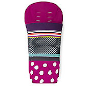 Mamas & Papas - All Seasons Plus Footmuff - Carousel Pink