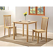 G&P Furniture Torino 3 Piece Square Dining Set