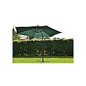 Norfolk 3m Hanging Banana Garden Parasol Green
