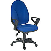 Teknik Office Commander Super Large Operator Chair without Arms - Burgundy