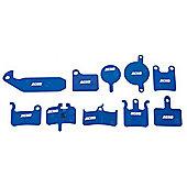 Acor Disc Brake Pads: Formula One / R1 / RX / Mega.