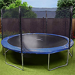 Mad Dash 'The One' Round Family Trampoline with Enclosure & Cover - 14ft