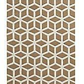 Think Rugs Hong Kong Beige/Cream Tufted Rug - 120 cm x 170 cm (3 ft 9 in x 5 ft 7 in)