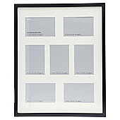 Tesco Photo Frame Black 7 Aperture