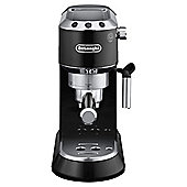DeLonghi Dedica Pump Espresso Coffee Machine, Black