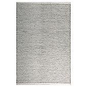 InRUGS Taj Mahal Steel Grey Woven Rug - 290cm x 200cm (9 ft 6 in x 6 ft 6.5 in)