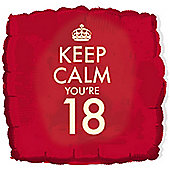 18' Keep Calm You're 18 (each)