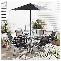 Hawaii Garden Furniture Set, 8 piece