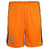 2013-14 Real Madrid Adidas 3rd Shorts (Orange) - Orange