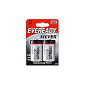 Everready ERSD2 Battery D Pack of 2