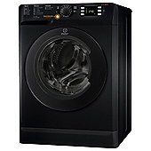 Indesit Innex Washer Dryer, XWDE 751480X K UK, 7KG load, with 1400 rpm - Black