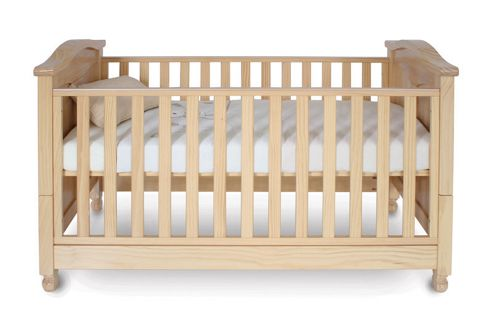 Babystyle Charlie Cotbed in Beech