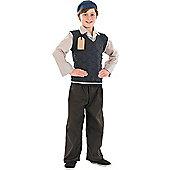 Evacuee School Boy - Child Costume 6-7 years